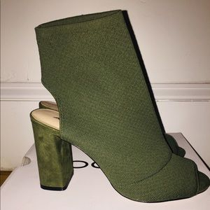 Olive green Brand New Aldo Booties!!